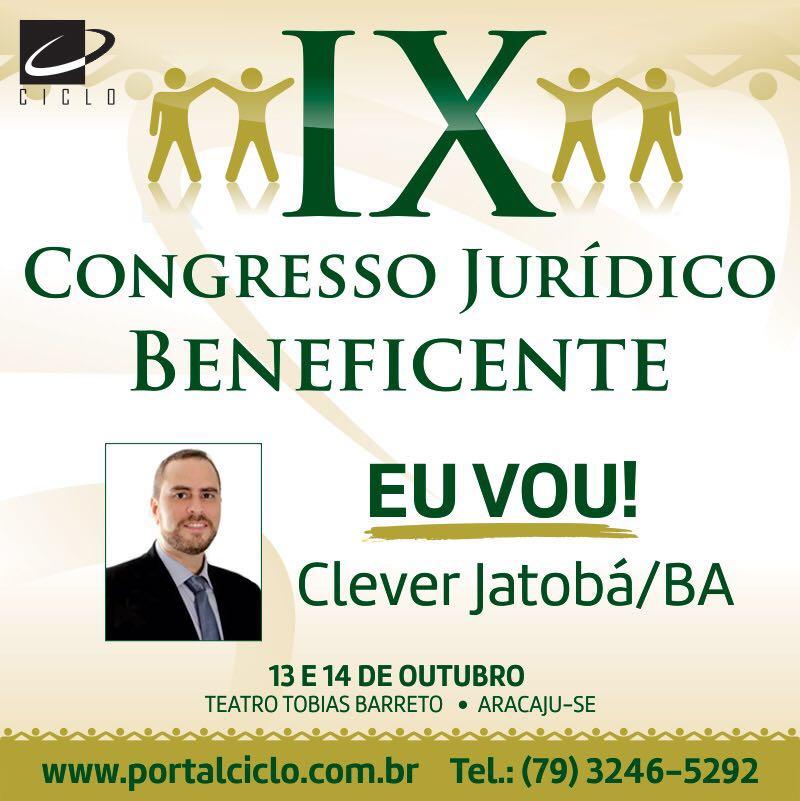 IX Congresso Jurídico Beneficente
