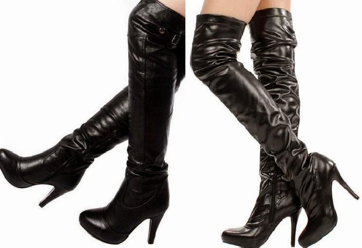 Yeni Moda Bayan Deri Çizme Modelleri