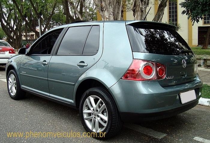 Volkswagen Golf Sportline 2010 - perfil
