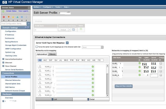 PVLANs with HP VC for VMware ESXI