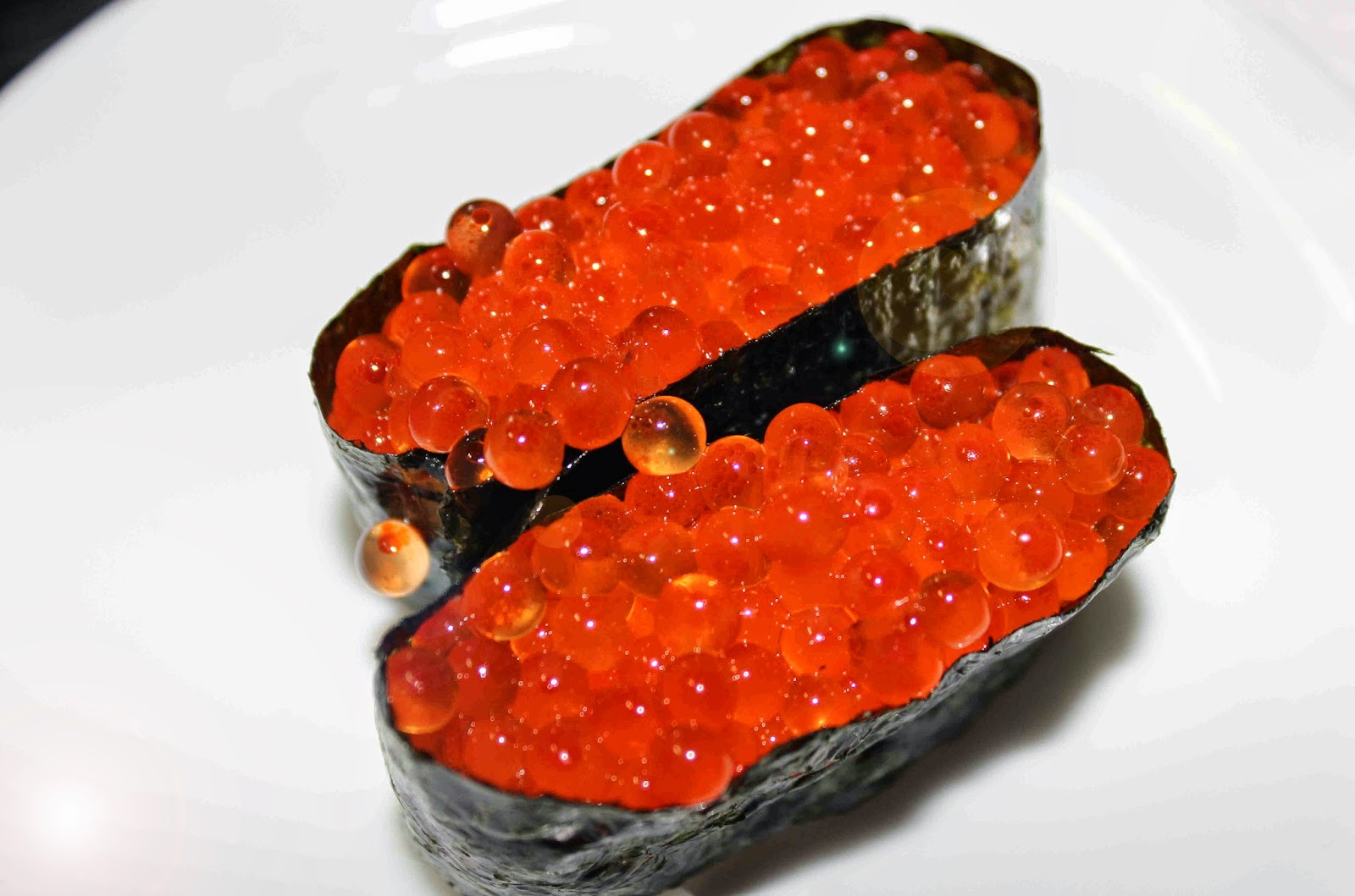 Culinary Physics: Artificial Ikura- Artificial Salmon Eggs (Roe ... for Lumpsucker Roe  45jwn