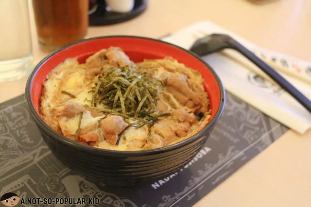 Oyakodon of Nadai Fujisoba