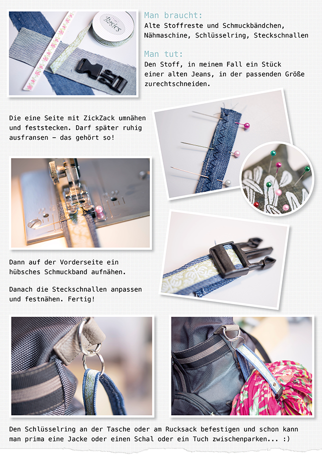 Ynas-Design.blogspot.de, DIY, Jacket Gripper