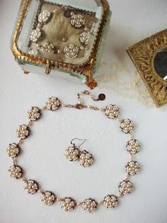 pulmaehted komplekt kaelakee kõrvarõngad bijoux schmuck mariage