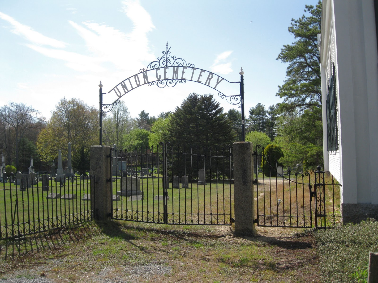 Union Cemetery Carver Ma. | West in New England