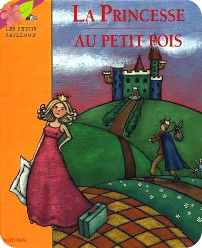 """""""La princesse au petit pois"""", conte d'Andersen, illustré par Camille Semelet"""
