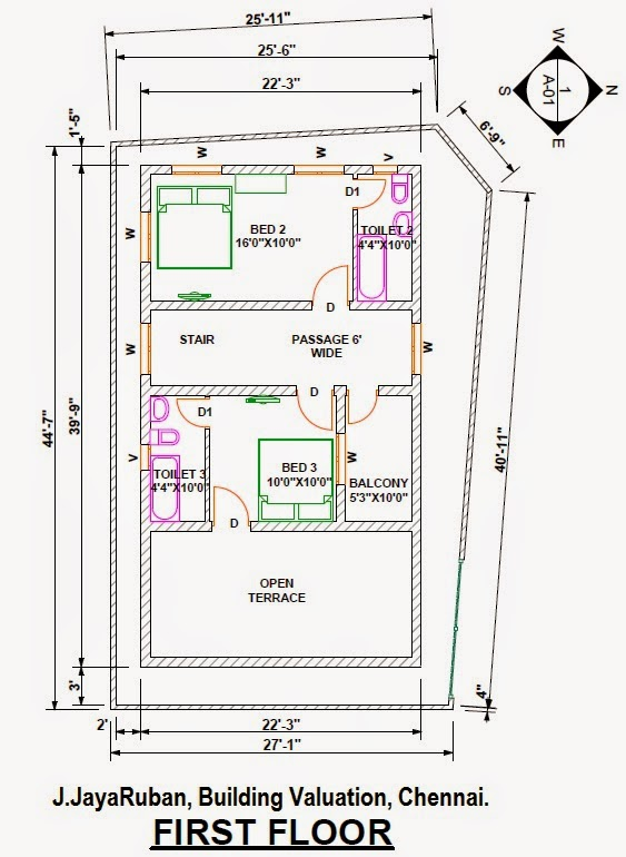 ... 3d Elevation and Specifications for the Luxury Residential Building