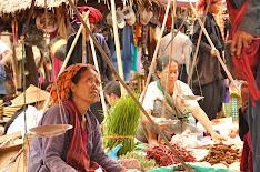 Mercado Lago Inle, Birmania
