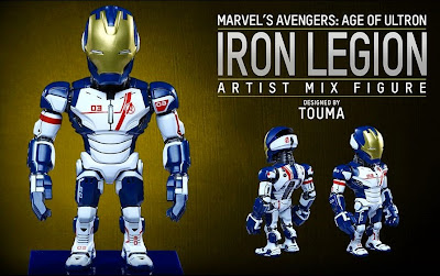 Marvel's Avengers Age of Ultron Artist Mix Figures Series 2 by Touma & Hot Toys - Iron Legion