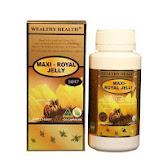 Maxi-Royal jelly 10HDA 33mg (6%) 1650 mg 120 แคปซูล เข้มข้นสูงสุด ในขณะนี้