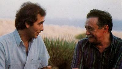 J.M. Serrat y Mario Benedetti