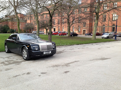 Rolls Royce Phantom Coupe at University of Birmingham Campus