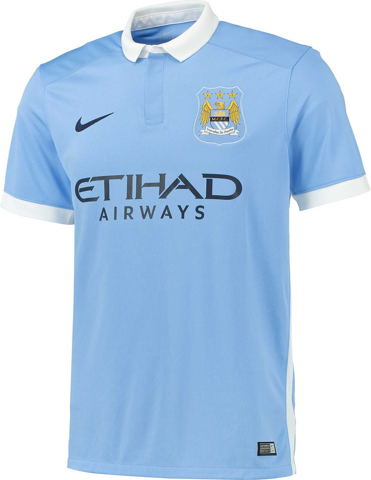 Manchester City 15-16 Home Kit Released - Footy Headlines