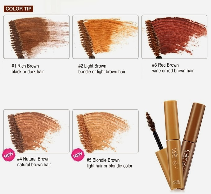 The Wrong Alice Makeup Review Etude House Color My Brows 5