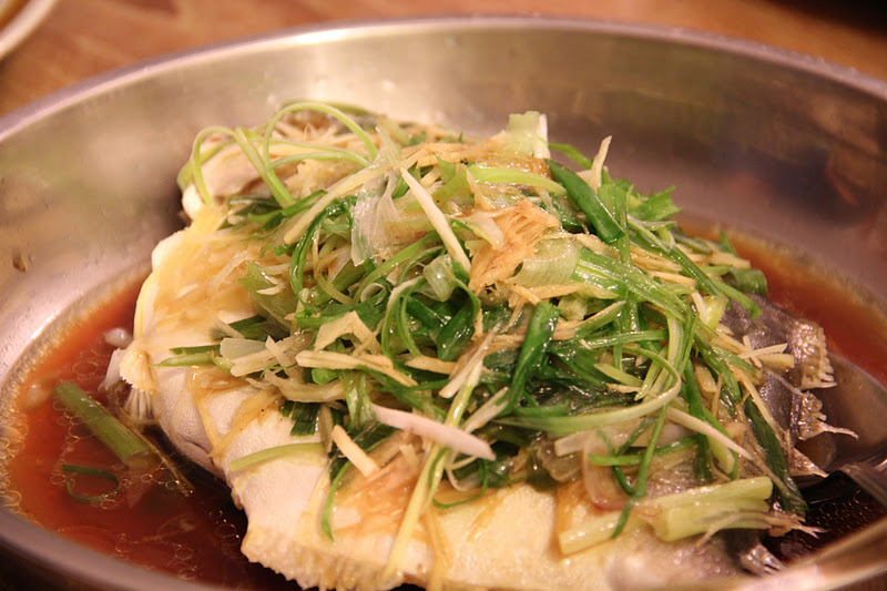 Tummy thrills steamed fish with sweet soy sauce for Soy sauce fish