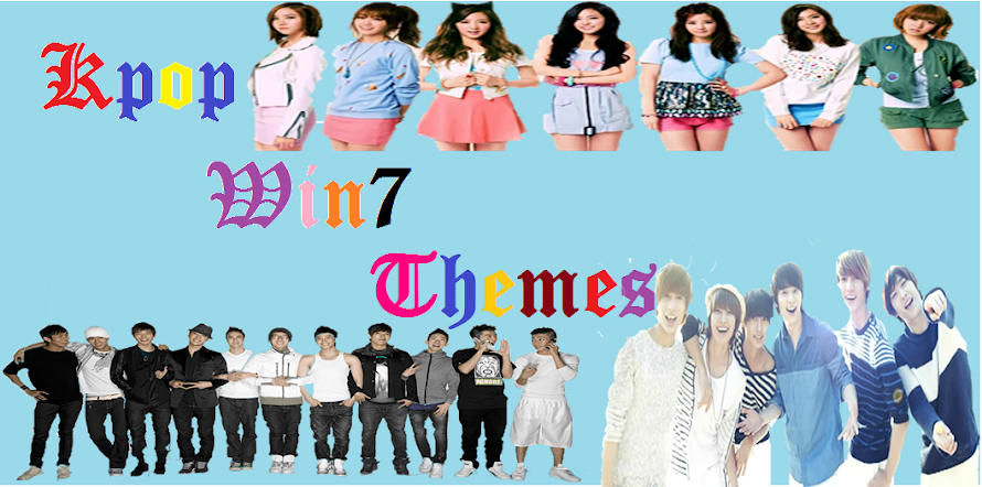 """Kpop-Win7Themes"" Free Themes Online Sharing For Windows 7"