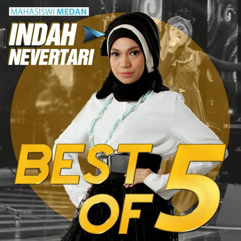 Lagu Cindai - Siti Nurhalizah Versi Indah Nevertari RSI