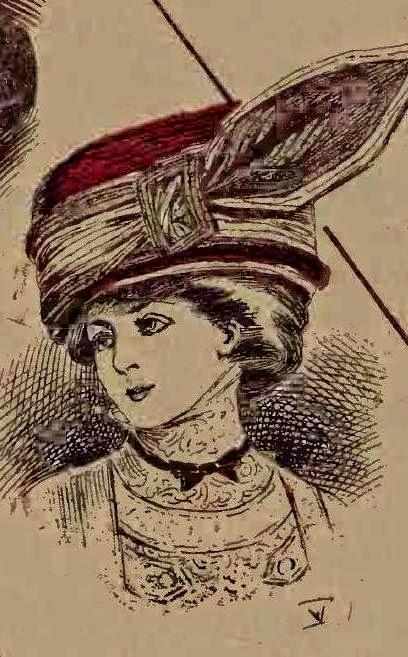 Moda noua ilustrata 1909