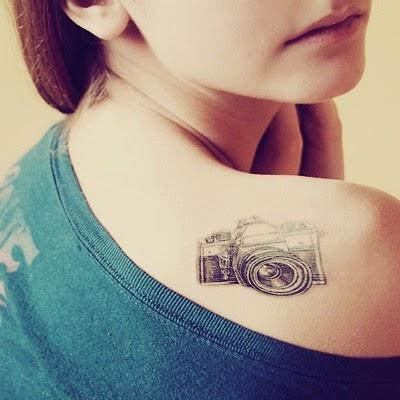 ♥ ♫ ♥ Cool Camera Tattoo ♥ ♫ ♥