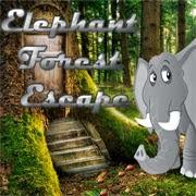 Juegos de escape Elephant Forest Escape