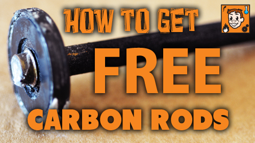 How to get free carbon rods.