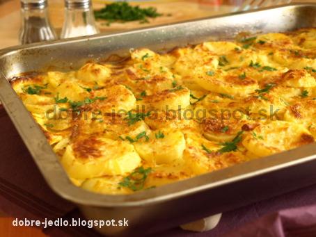 Smotanové zemiaky - recepty