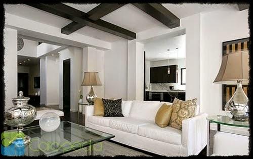 ruang tamu rumah type 36