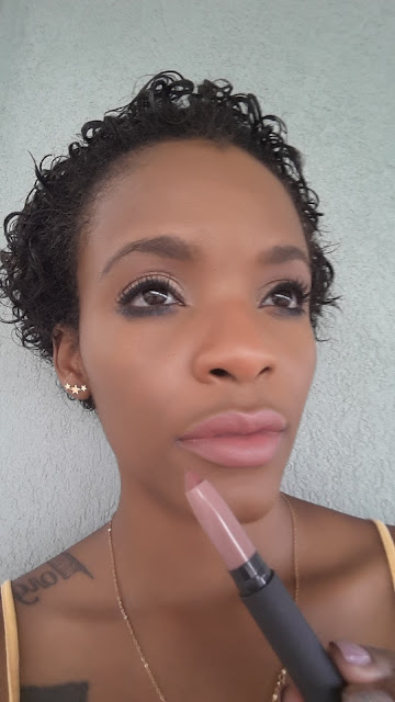 Bite Beauty Matte Creme Lip Crayon 'Glace' swatched www.modenmakeup.com