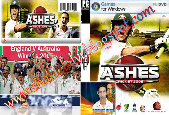 Ashes Cricket 2009 PC Game Free Download Full Version