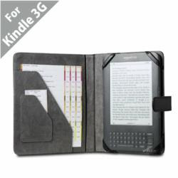 Acase™ Kindle 3 Professional Leather Cases for Amazon Kindle 3