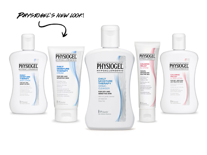 Physiogel's New look!