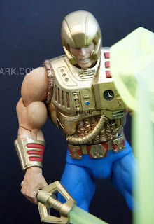 Mattel Matty Collector 2013 Toy Fair Display - Masters of the Universe MOTU Classics New Adventures He-Man figure