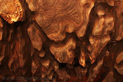 Detalhe do teto na entrada da gruta da Lapinha, em Lagoa Santa - Minas Gerais