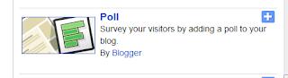 Tahapan membuat poling di blogger