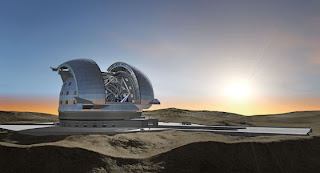 Telescopio gigante E ELT