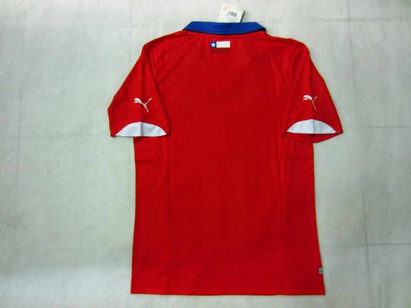 Kaos Timnas Chile Piala Dunia 2014