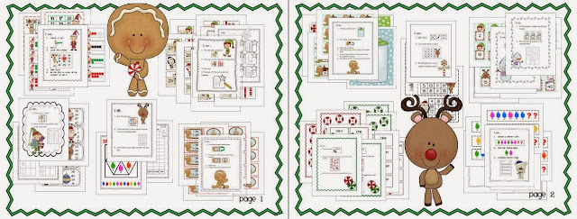 http://www.teacherspayteachers.com/Product/Christmas-Math-10-Work-Stations-399712