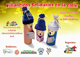 Villancicos Solidarios en la calle
