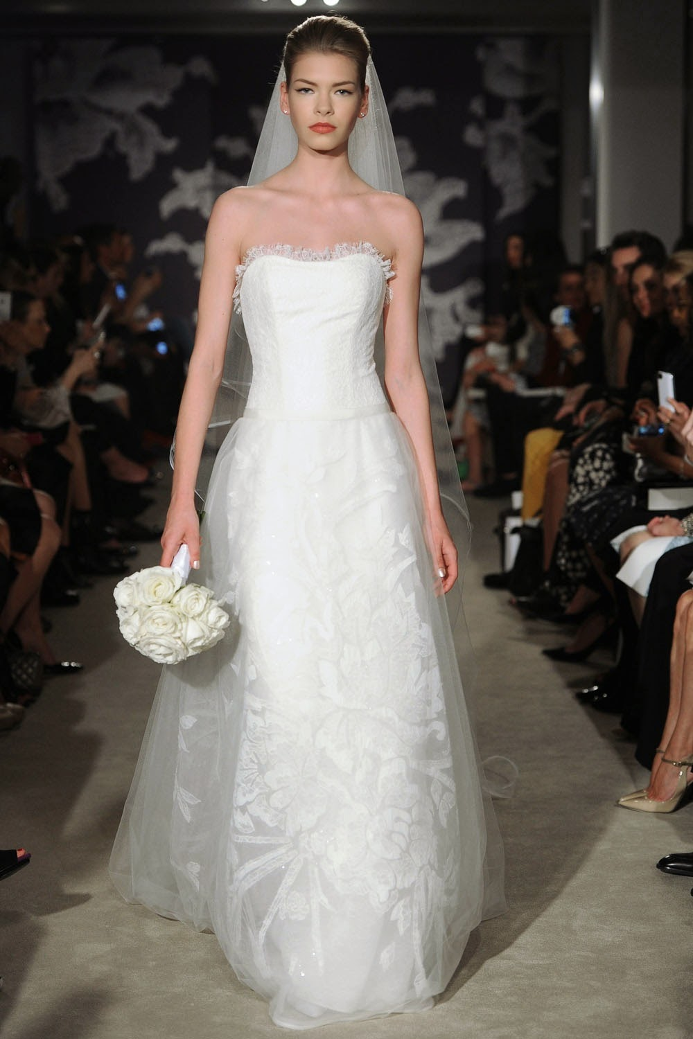 Carolina Herrera Spring 2015 Wedding Dresses