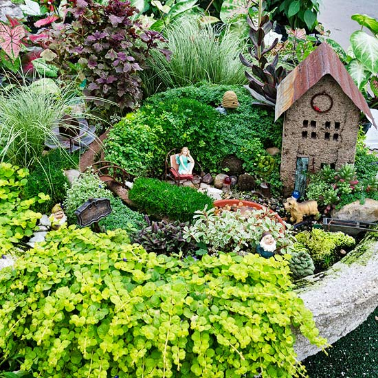 retired in alaska fairy garden