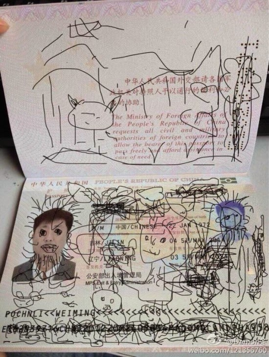 Terdampar di Korea Karena Passport Digambar Anaknya