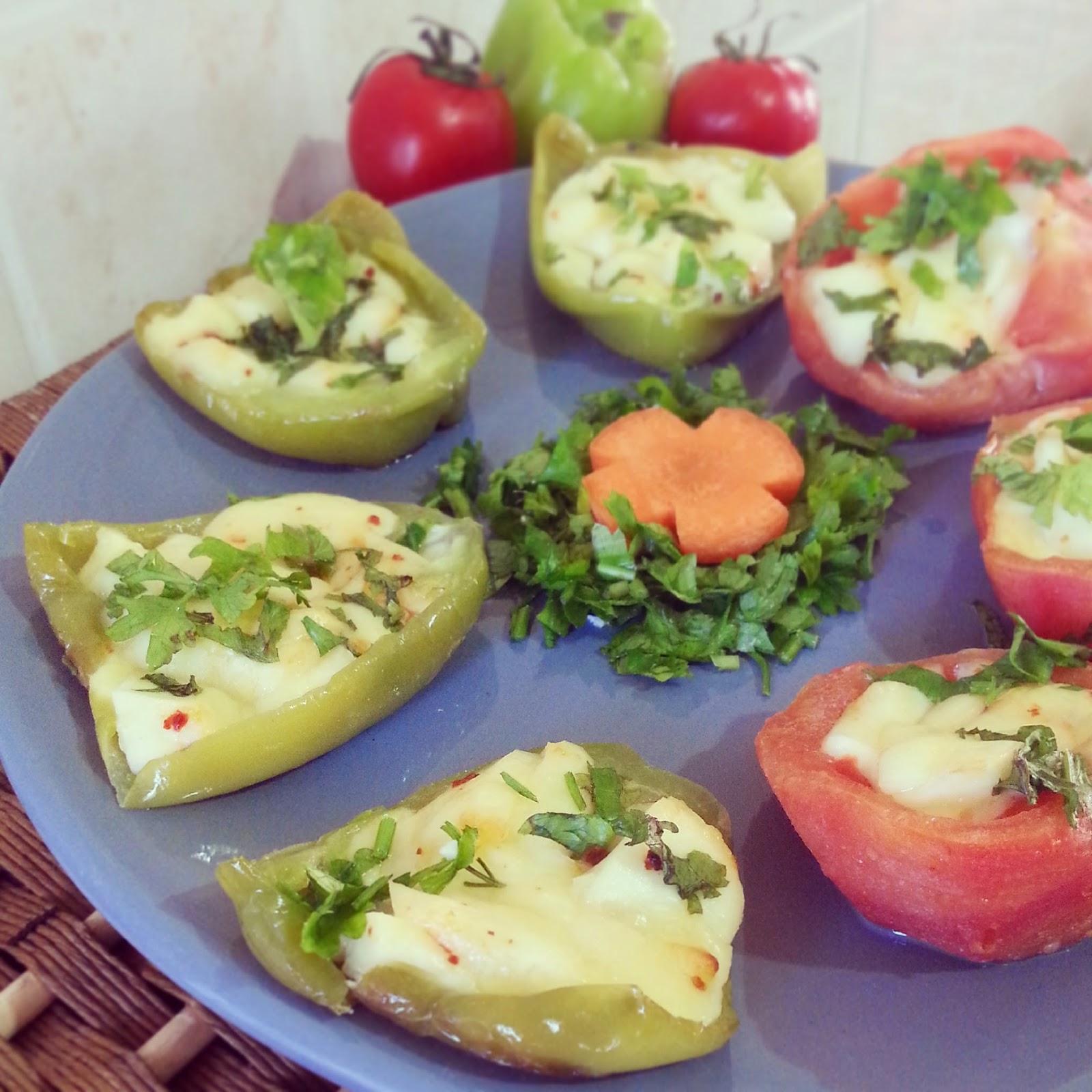 Peynir Dolgulu Biberler — Resimli Yemek Tarifleri
