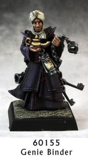Genie binder Reaper Miniatures