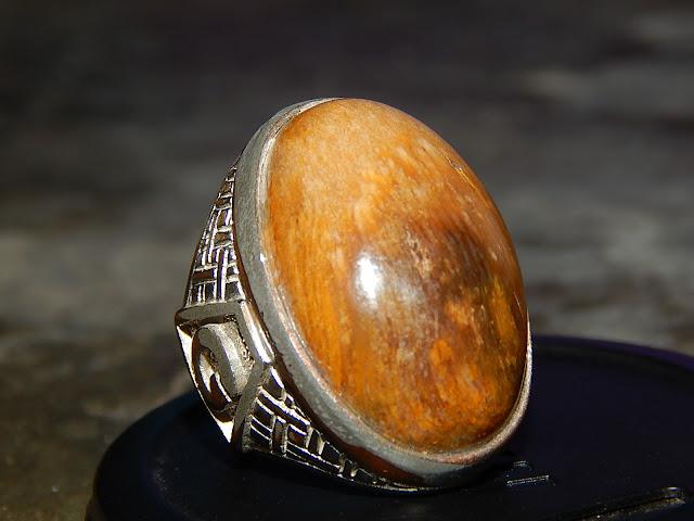 Batu Akik Fosil Kelor Khas Sumbawa