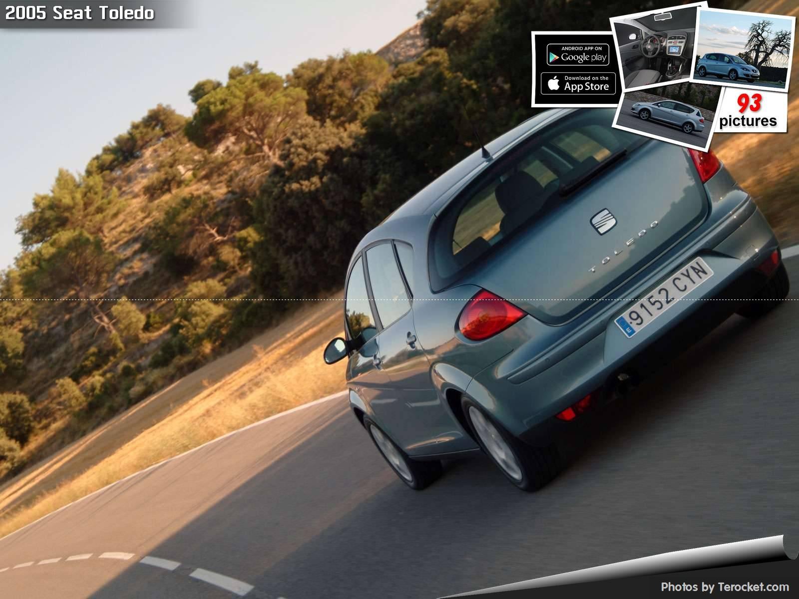 Hình ảnh xe ô tô Seat Toledo 2005 & nội ngoại thất