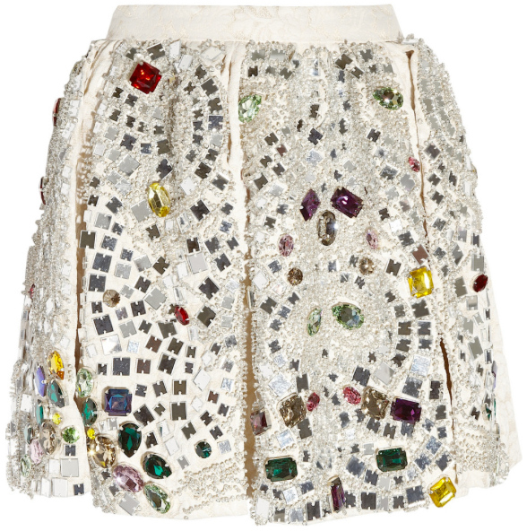 Dolce and Gabbana $13,000 mini skirt