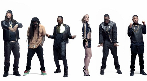 Clip du remix de « Scream & Shout » de Will.I.Am et Britney Spears avec Lil Wayne, Diddy, Waka Flocka Flame et Hit-Boy.