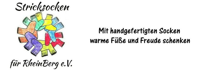 Stricksocken für RheinBerg e.V.