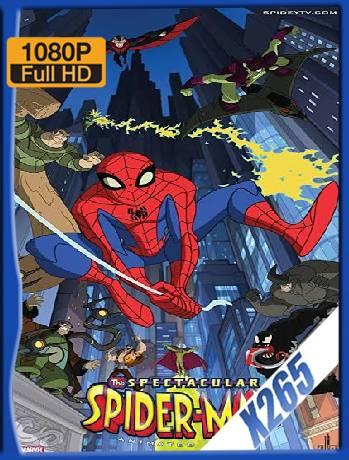 The Spectacular Spider-Man Temporada 1,2 (2008) x265 [1080p] [Latino] [GoogleDrive] [RangerRojo]