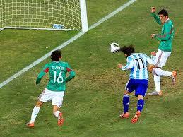Argentina 3x1 México - 2010